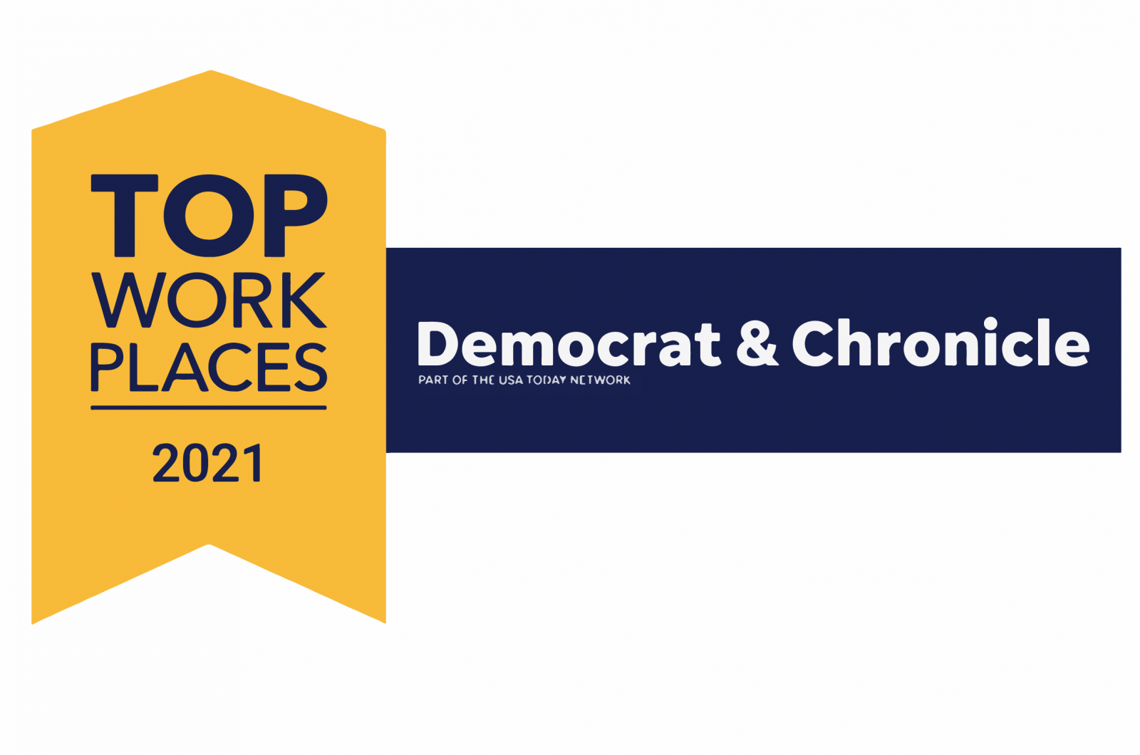 Democrat and Chronicle Top Work Places Award