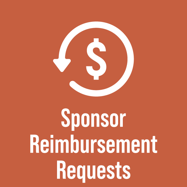 Sponsor Reimbursement Requests 01 01